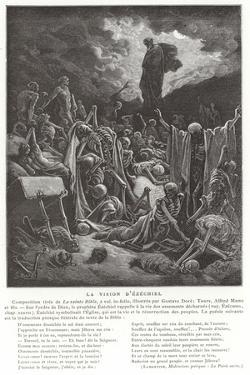 The Vision of Ezekiel by Gustave Doré