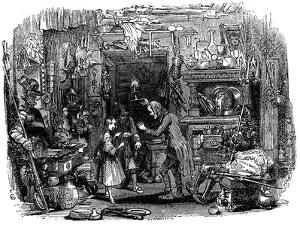 Warehousing In The City by Gustave Doré by Gustave Dore