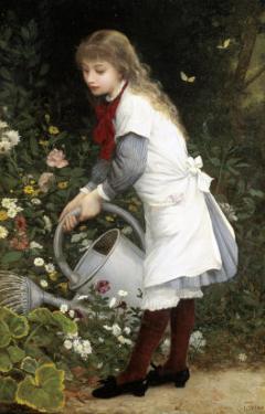 In the Secret Garden by Gustave Doyen