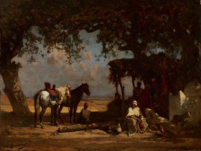 An Arab Encampment, C.1880