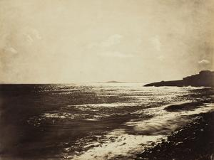 Mediterranean with Mount Agde, 1857 by Gustave Le Gray