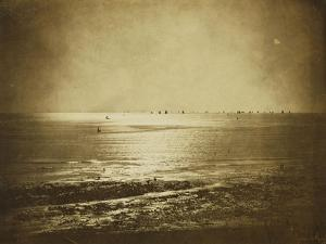 Seascape, Normandy, 1856 by Gustave Le Gray