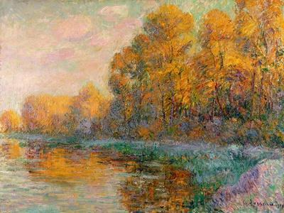 A River in Autumn, 1909