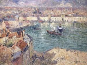 Dieppe, 1929 by Gustave Loiseau