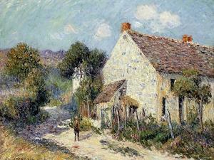 Landscape of Seine-Et-Oise; Paysage De Sein-Et-Oise, 1906 by Gustave Loiseau