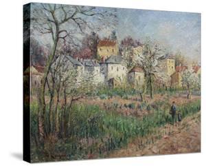 Pontoise, le Coteau de l'Ermitage by Gustave Loiseau