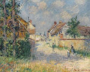 Rue a Saint-Cyr-du-Vaudreuil by Gustave Loiseau