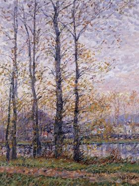 The Banks of the Oise at Precy; Les Bords De L'Oise a Precy by Gustave Loiseau