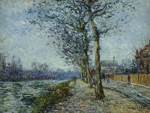 The Oise at Pontoise; L'Oise a Pontoise, 1900 by Gustave Loiseau
