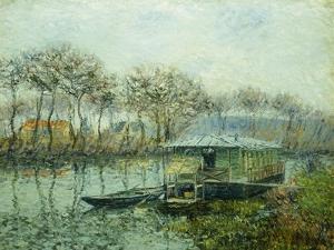 The Seine at Port Marley; La Seine a Port Marley, 1902-1903 by Gustave Loiseau
