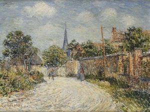 The Village Street; La Rue De Village by Gustave Loiseau
