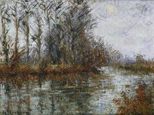 Turn of the Eure; Tournant De L'Eure by Gustave Loiseau