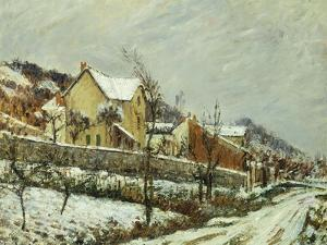 Village in the Snow; Village Dans La Neige, 1911 by Gustave Loiseau