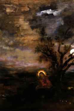 Christ in the Garden of Olives by Gustave Moreau