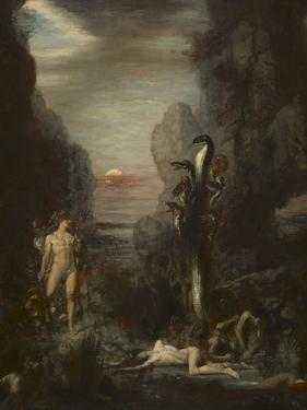Hercules and the Lernaean Hydra, 1875-76 by Gustave Moreau