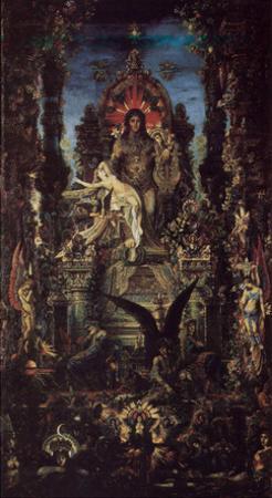 Gustave Moreau (Jupiter and Semele) Art Poster Print