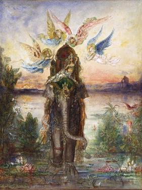 The Sacred Elephant (Pér) by Gustave Moreau