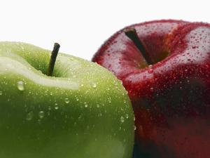 Two Apples by Gustavo Andrade