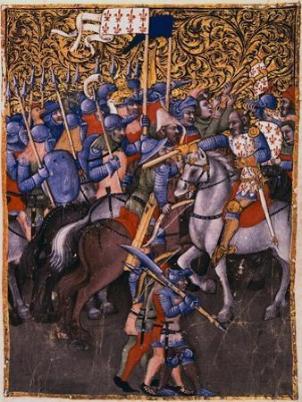 Battle Scene Attributed to Niccolo da Bologna