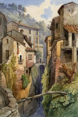 Lucca, Tuscany, Italy, 1850 by Gustavo Witting
