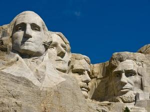 Mount Rushmore Memorial by Gutzon Borglum
