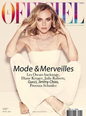 L'Officiel, February 2008 - Diane Kruger by Guy Aroch