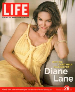 Portrait of Actress Diane Lane at Home, July 29, 2005 by Guy Aroch