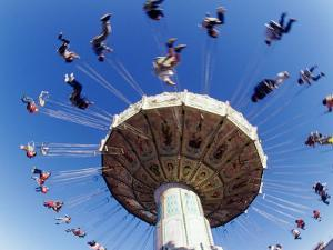 Amusement Park Ride by Guy Crittenden