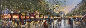 Paris Champs Elysees by Guy Dessapt
