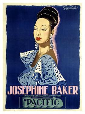 Josephine Baker by Guy-Gerard Noel