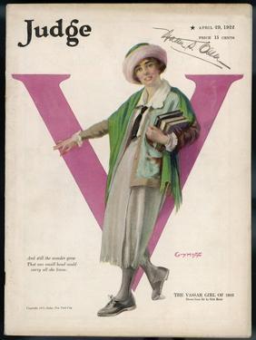American College Girl or the Vassar Girl of 1922 by Guy Hoff