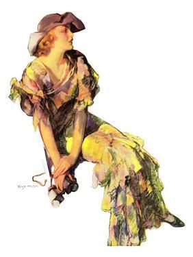 """Summer Frock,""August 3, 1935 by Guy Hoff"