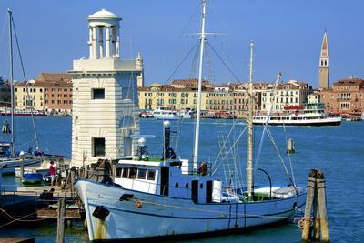 Light House and Campanile and Danieli Hotel