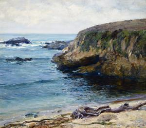 On the 17 Mile Drive by Guy Rose