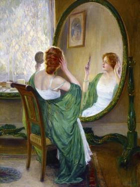 The Green Mirror by Guy Rose
