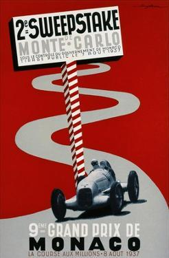 2e Sweepstake de Monte-Carlo, 9eme Grand Prix de Monaco by Guy Serre