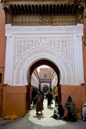Bab Taghzout, Medina, UNESCO World Heritage Site, Marrakech, Morocco, North Africa, Africa