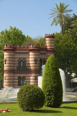 Costurero de la Reina (Queen's Sewing Box), Maria Luisa Park, Seville, Andalusia, Spain,Europe by Guy Thouvenin