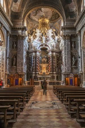Interior of St. Maria Di Nazareth Church, Venice, UNESCO World Heritage Site, Veneto, Italy, Europe by Guy Thouvenin