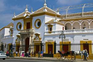 Plaza De Toros, Seville, Andalusia, Spain, Europe by Guy Thouvenin