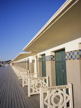 Pompeian Baths, Deauville, Basse Normandie (Normandy), France, Europe by Guy Thouvenin
