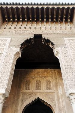 Saadian Tombs Dating from the 16th Century, Marrakesh, Morocco, North Africa by Guy Thouvenin