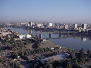 Tigris River, Baghdad, Iraq, Middle East by Guy Thouvenin