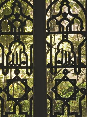 Wrought Iron Opening on to the Gardens of Reales Alcazares (Alcazar Palace Gardens), Seville by Guy Thouvenin