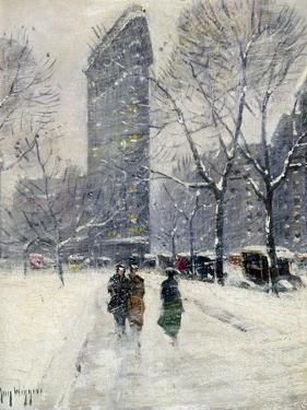 New York: Flatiron, 1919 by Guy Wiggins