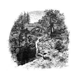The Linn of Dee, Aberdeenshire, Scotland, 1900 by GW and Company Wilson