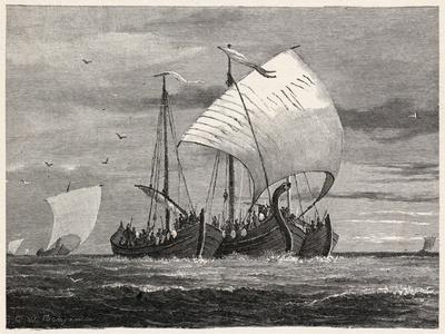 Vikings Sail to England