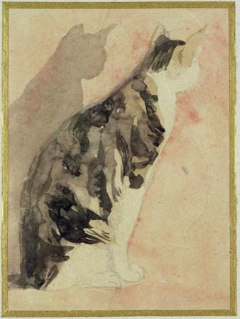 Study of a Cat (W/C on Paper) by Gwen John