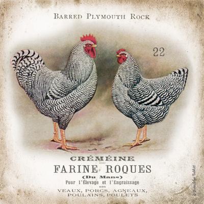 Chicken Pair II by Gwendolyn Babbitt