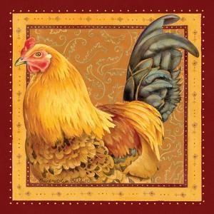 Country Rooster II by Gwendolyn Babbitt